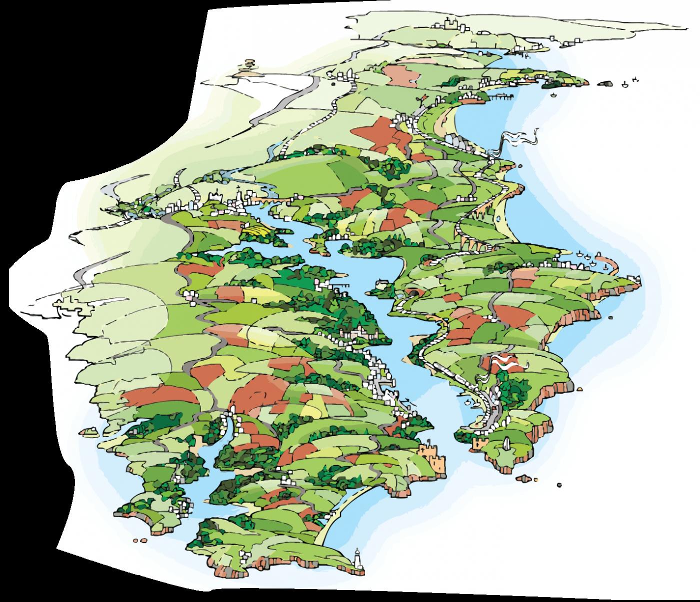 Paignton To Kingsmear Map